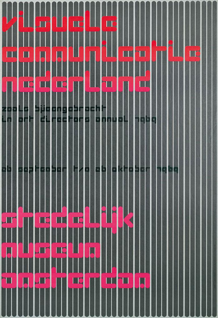 Visuele-Communicatie-Nederland,-Stedelijk-Museum-Amsterdam-1969