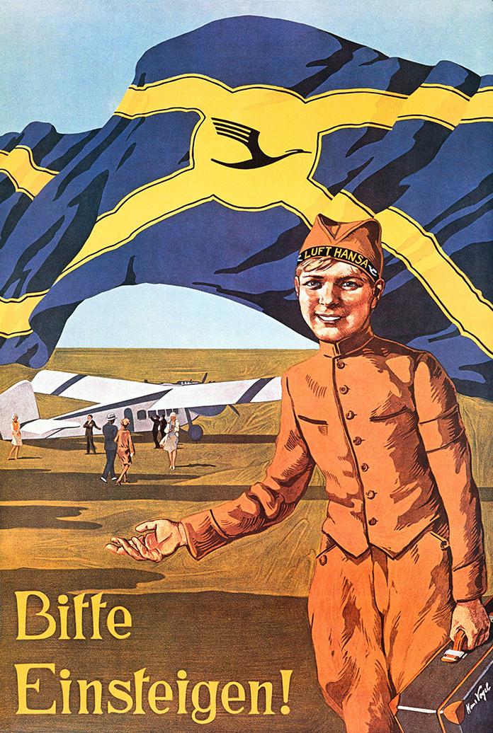 Vogel-Hans-DE-1927-poster-Dessine-moi-une-Lufthansa-strabic