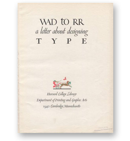 WAD-to-RR--A-Letter-about-Designing-Type---William-Addison-Dwiggins-bibliotheque-index-grafik-couv