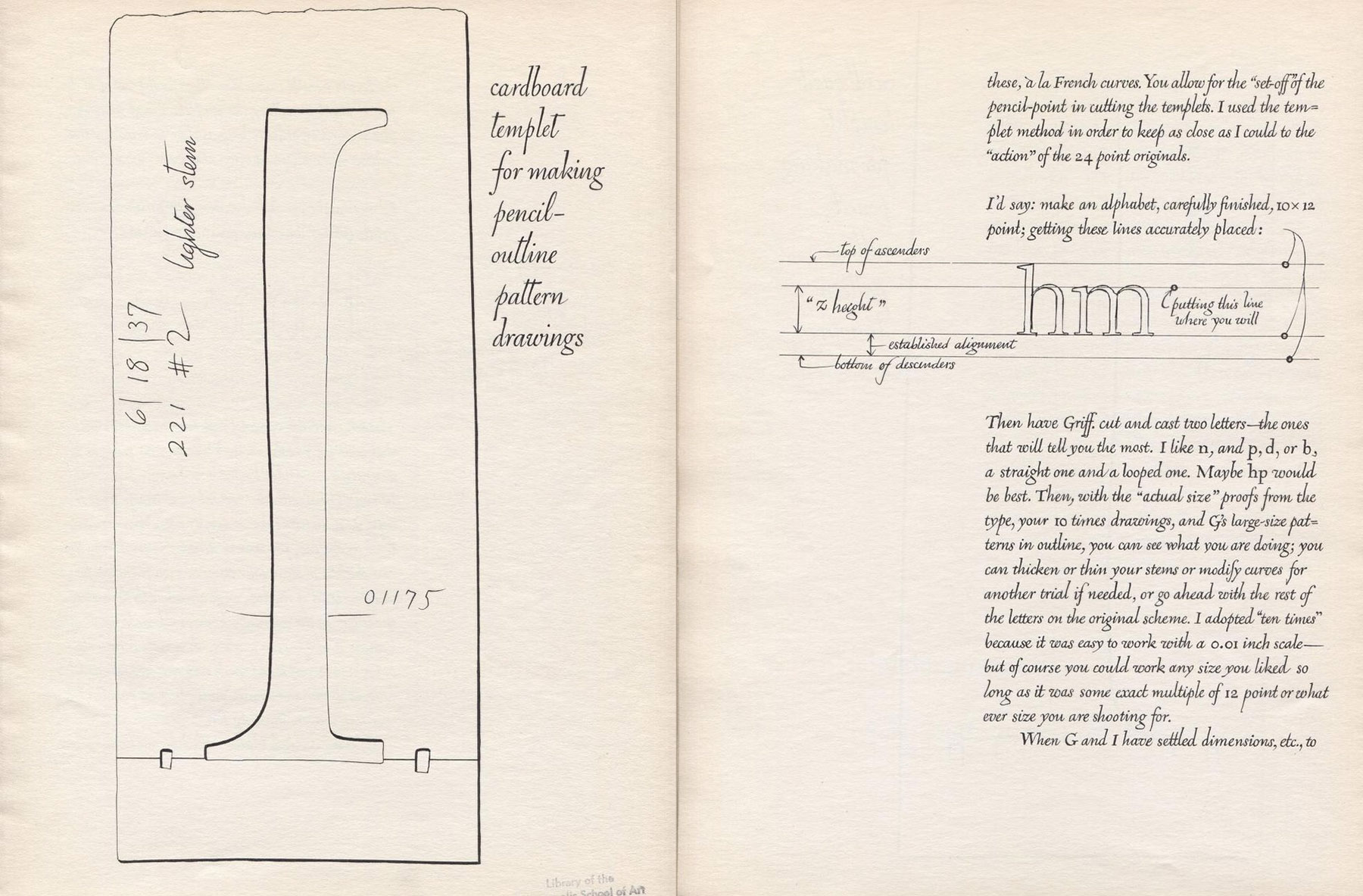 WAD to RR: A Letter about Designing Type – William Addison Dwiggins