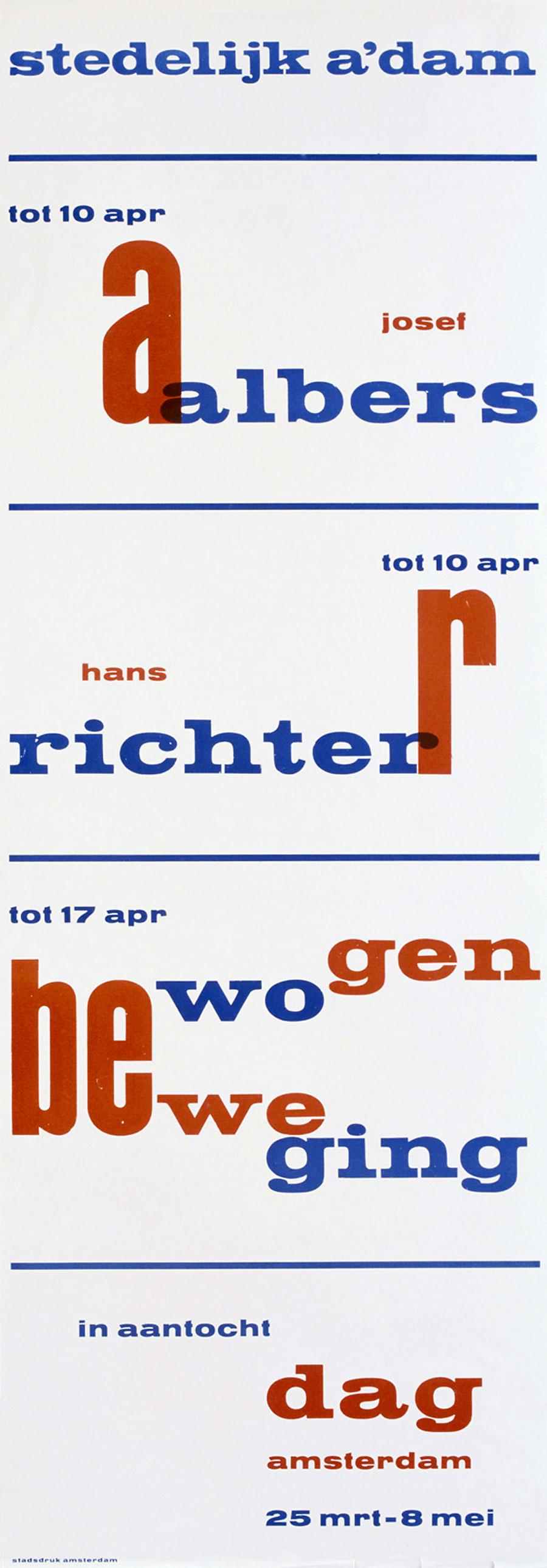 Willem-Sandberg-affiche-stedelijk