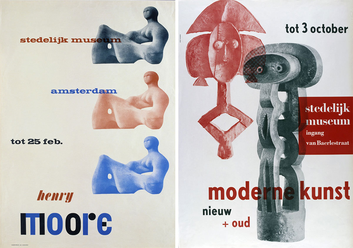 Willem-Sandberg-affiches-henry-moore-moderne-kunst