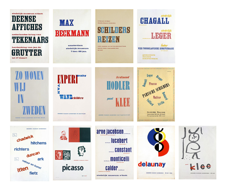 Willem-Sandberg-affiches-stedelijk-museum