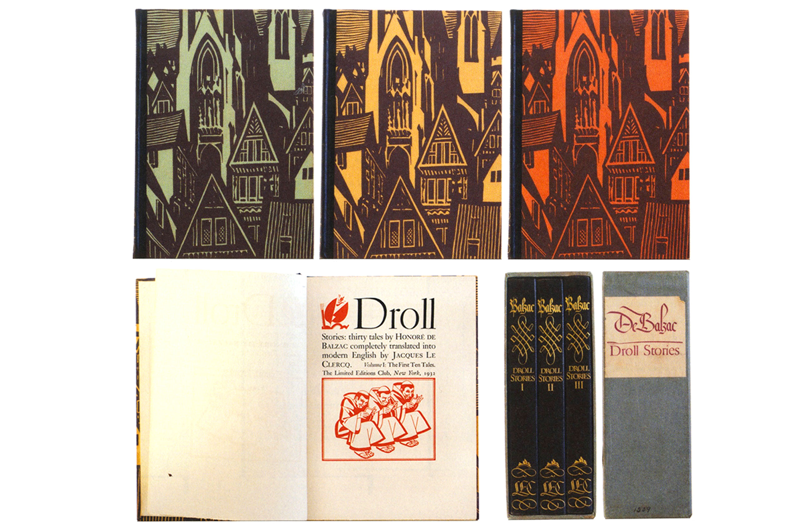 William-Addison-Dwiggins-DROLL-STORIES-Honore-de-BALZAC-1932