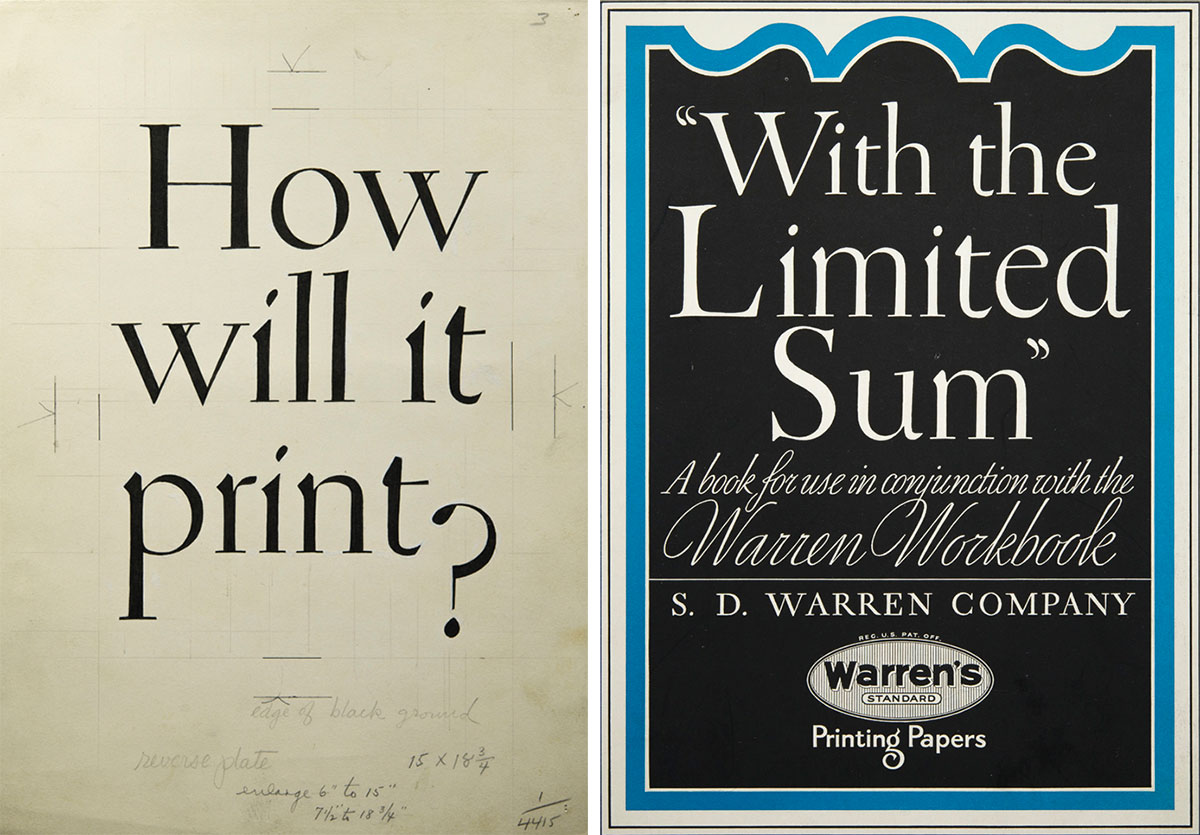 William-Addison-Dwiggins-Original-lettering-brochure-1930