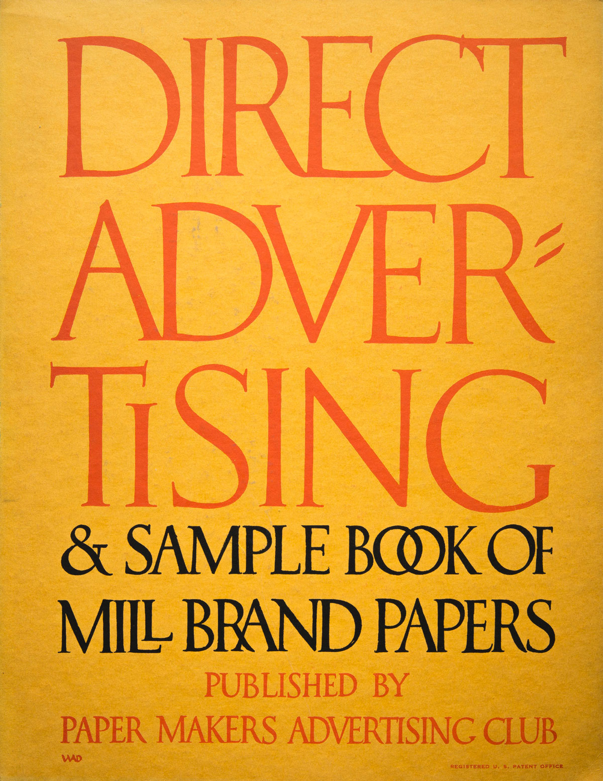 William-Addison-Dwiggins-couverture-Direct-Advertising-1916