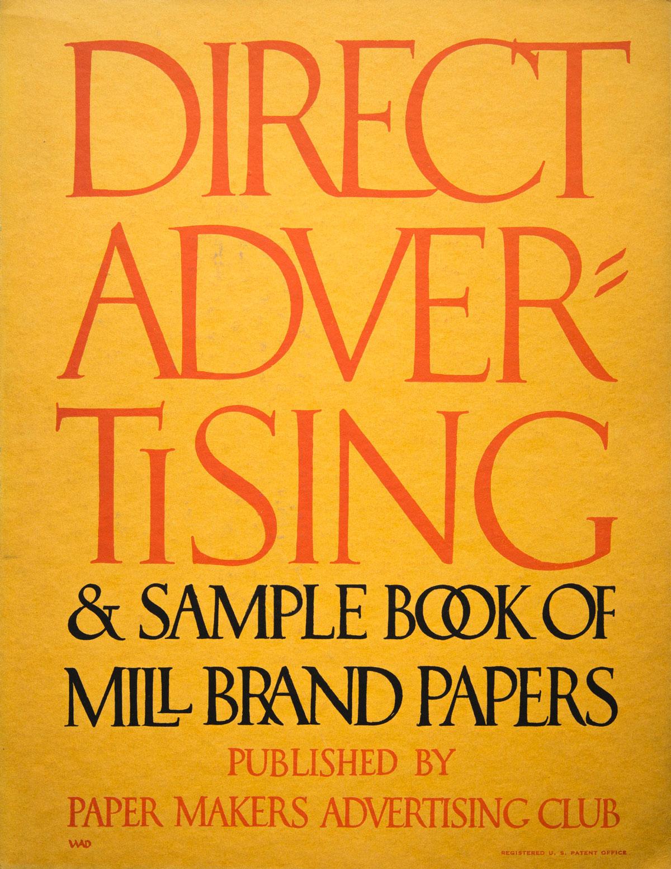 William-Addison-Dwiggins-couverture-Direct-Advertising-1916