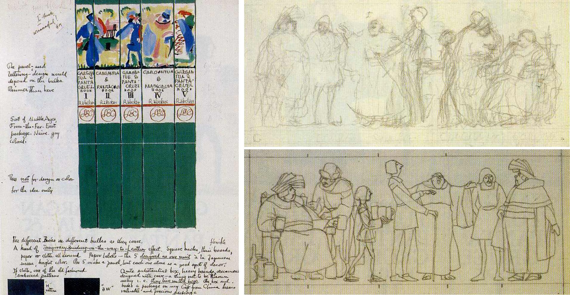 William-Addison-Dwiggins-livres-gargantua-1936-sketch-02