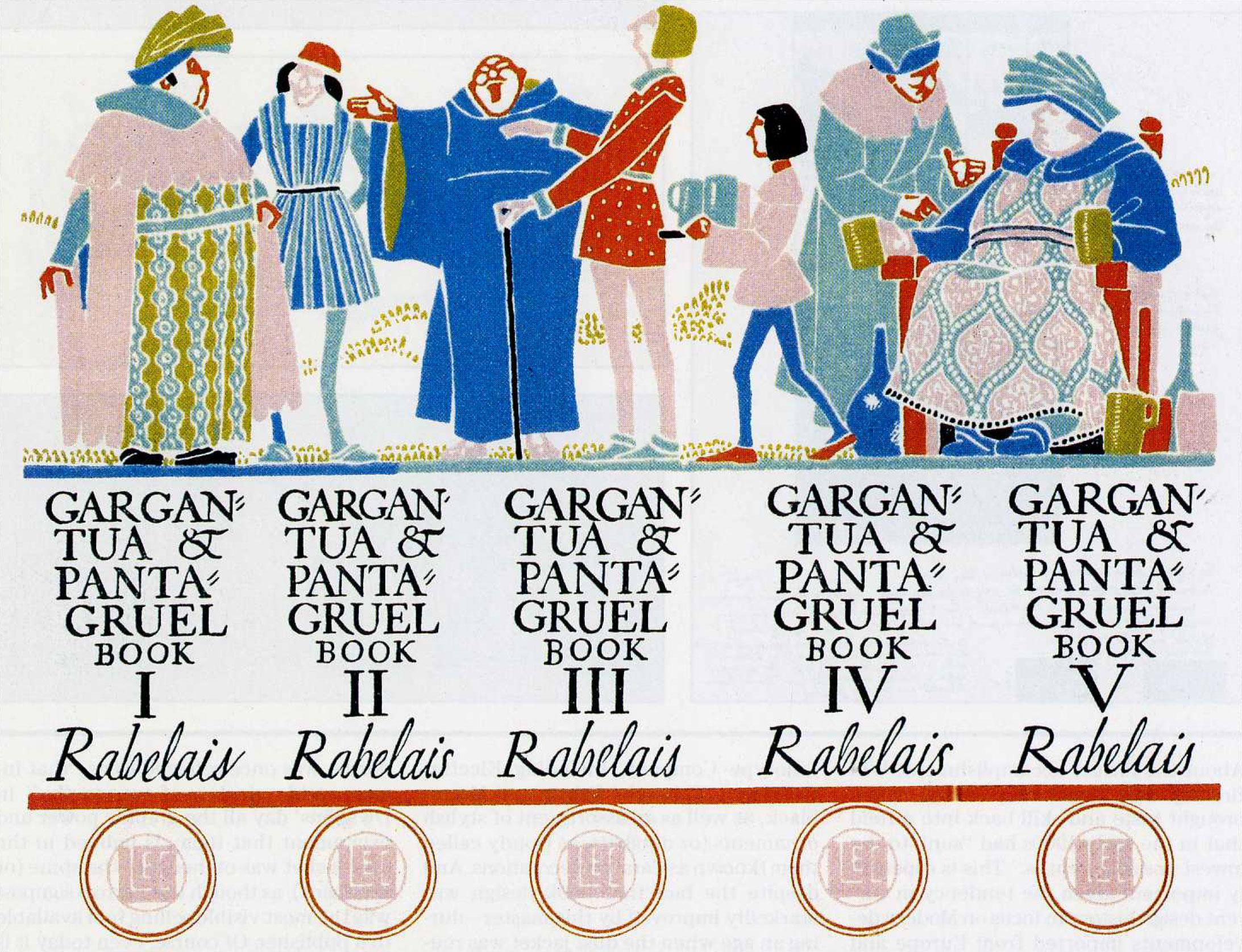 William-Addison-Dwiggins-livres-gargantua-1936-sketch