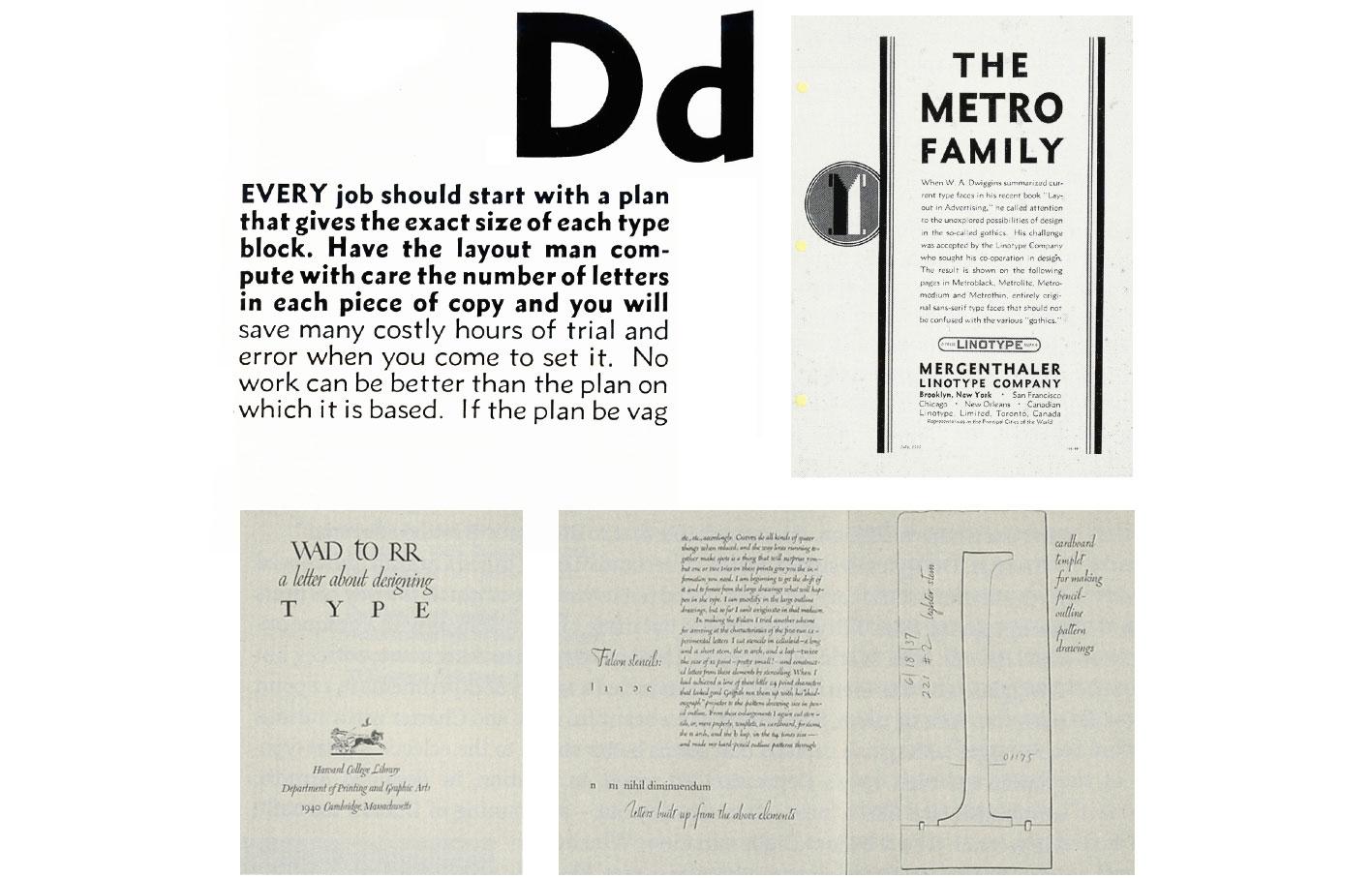 Spécimen typographique du Metro, 1927 (Eye. 23/96).