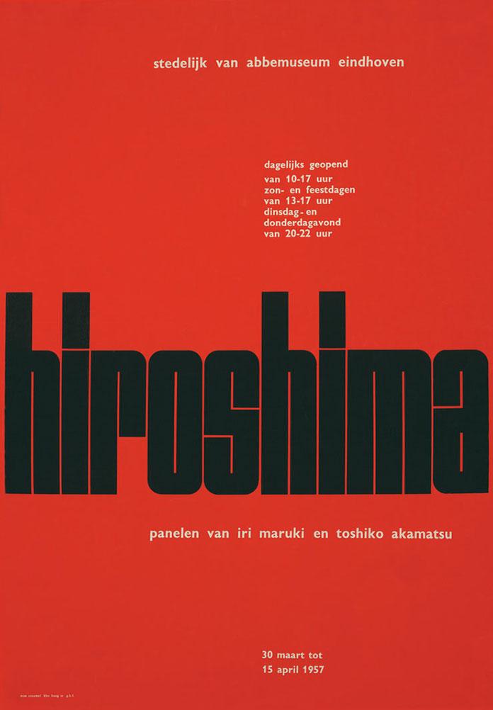 Wim-Crouwel-affiche-Hiroshima-1957