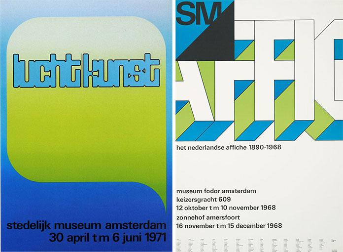 Wim-Crouwel-affiche-Kunst-Licht-1971-affiche-1968