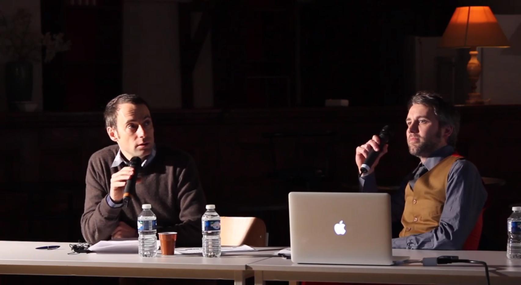 Yoan De Roeck & Bastien Gallet – Designer ou Auteur : qui porte le message ?