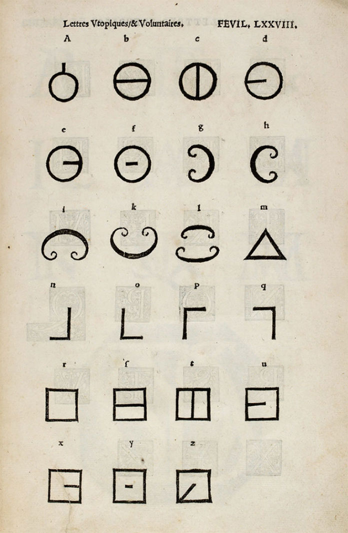 alphabet-utopien-Champ-fleury-Geoffroy-Tory-1529