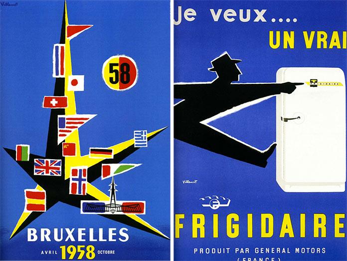 bernard-villemot-bruxelles-1958-frigidaire-1956
