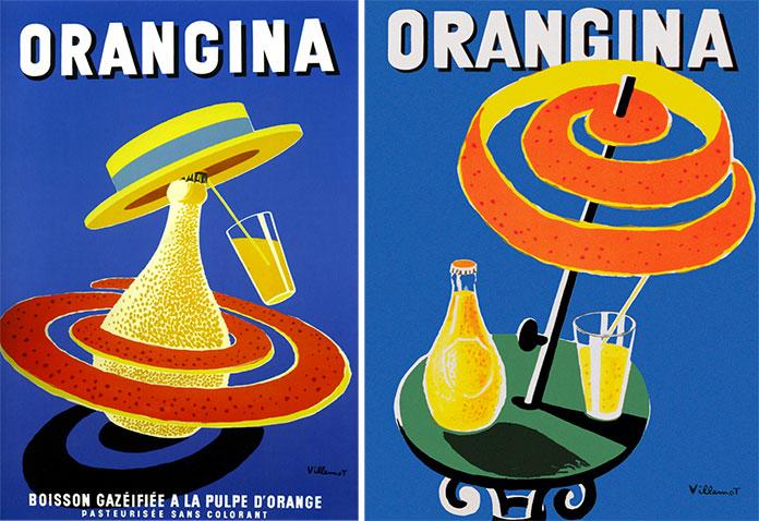 bernard-villemot-orangina-1956