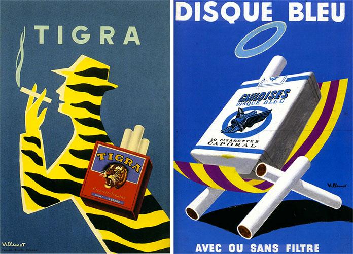 bernard-villemot-tigra-1954-gauloise-1957