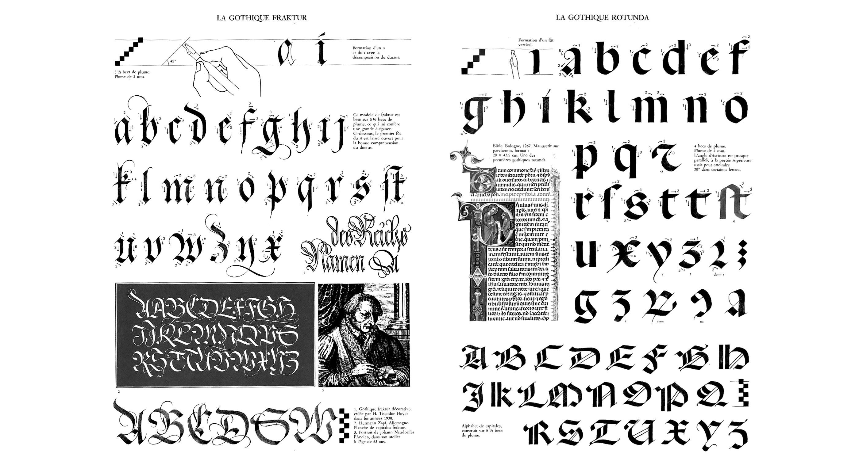 claude-mediavilla-calligraphie-gothique-fraktur-rotunda-nb