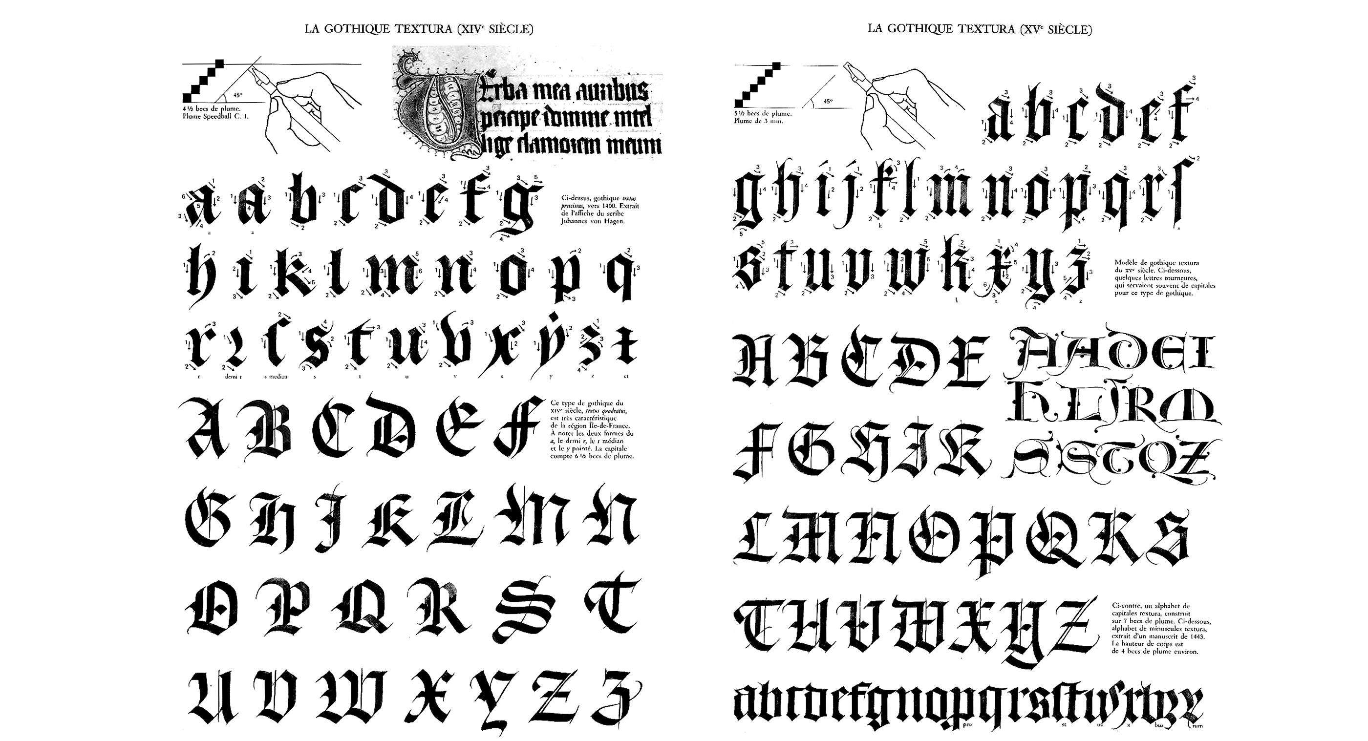 Claude mdiavilla calligraphie index grafik claude mediavilla calligraphie gothique textura nb thecheapjerseys Image collections