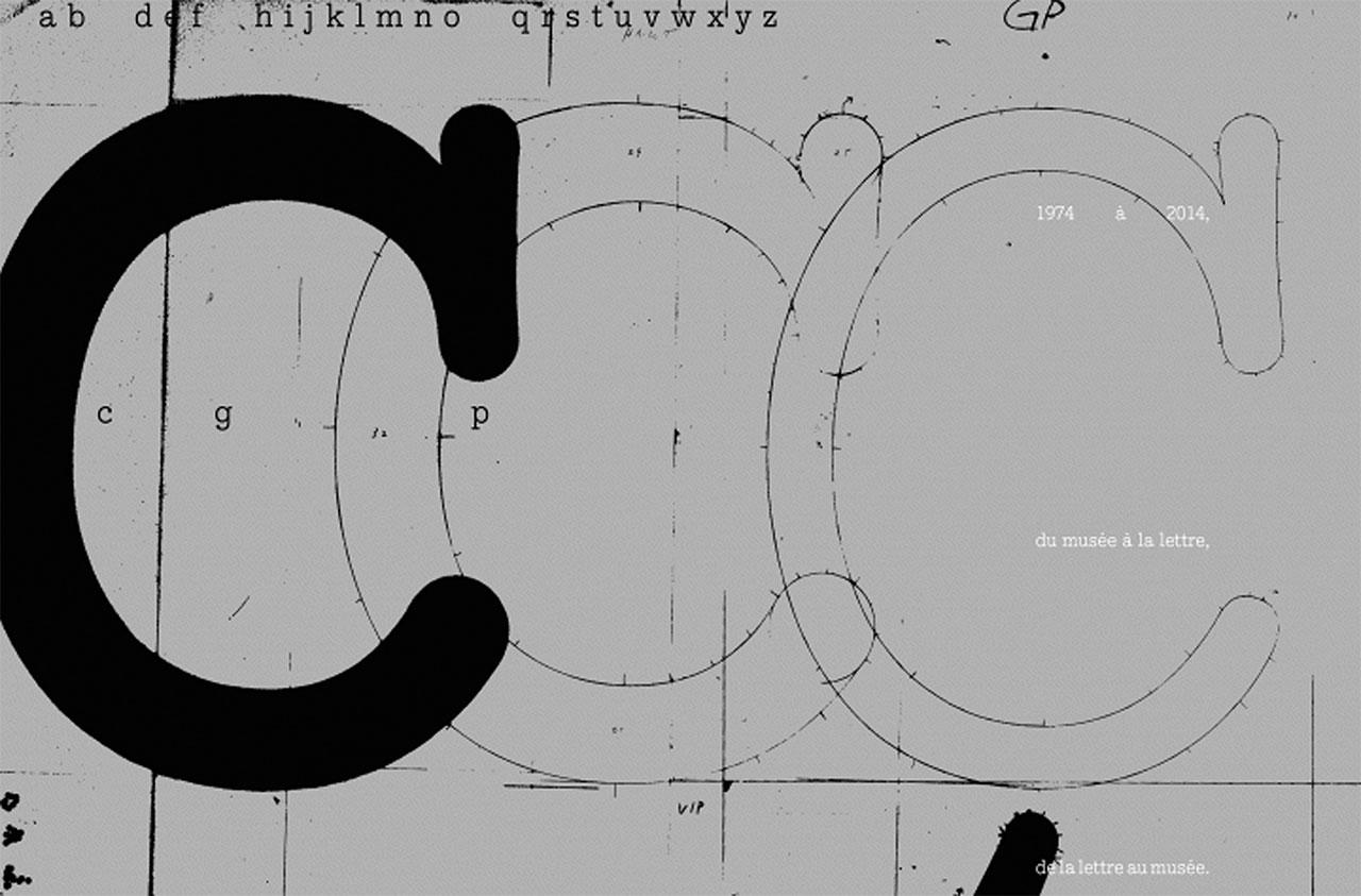 40 ans du caractère typographique CGP