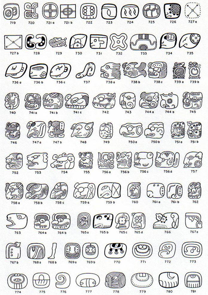 ecriture-maya-glyph