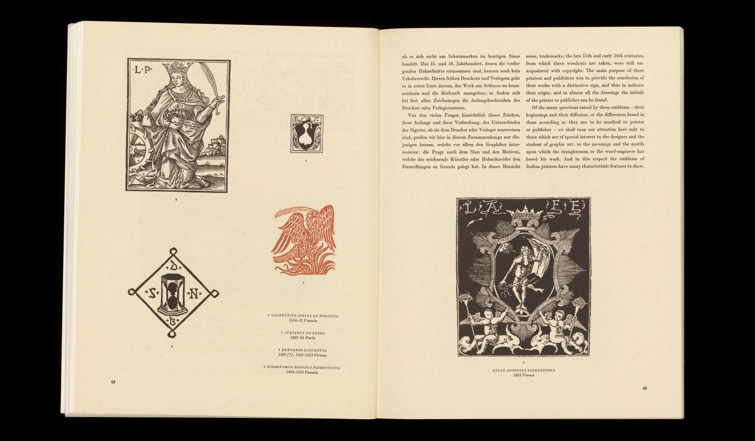 graphis-1-september-1944-Italian-printer-s-emblems-in-the-15th-and-16th-centuries-index-grafik-00