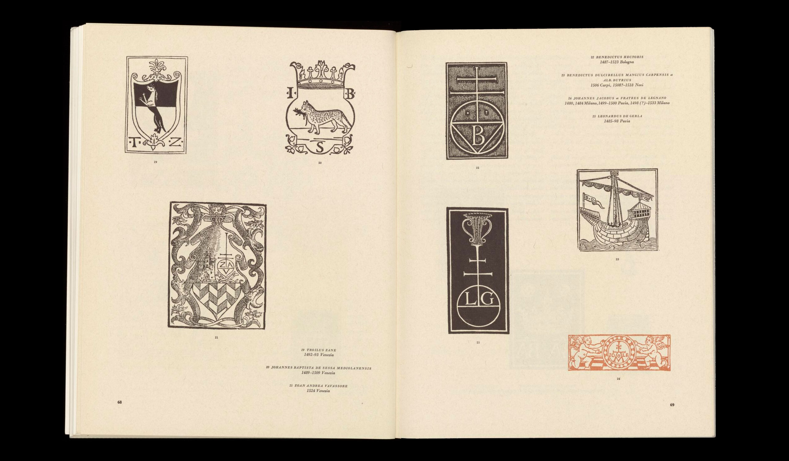 graphis-1-september-1944-Italian-printer-s-emblems-in-the-15th-and-16th-centuries-index-grafik-04