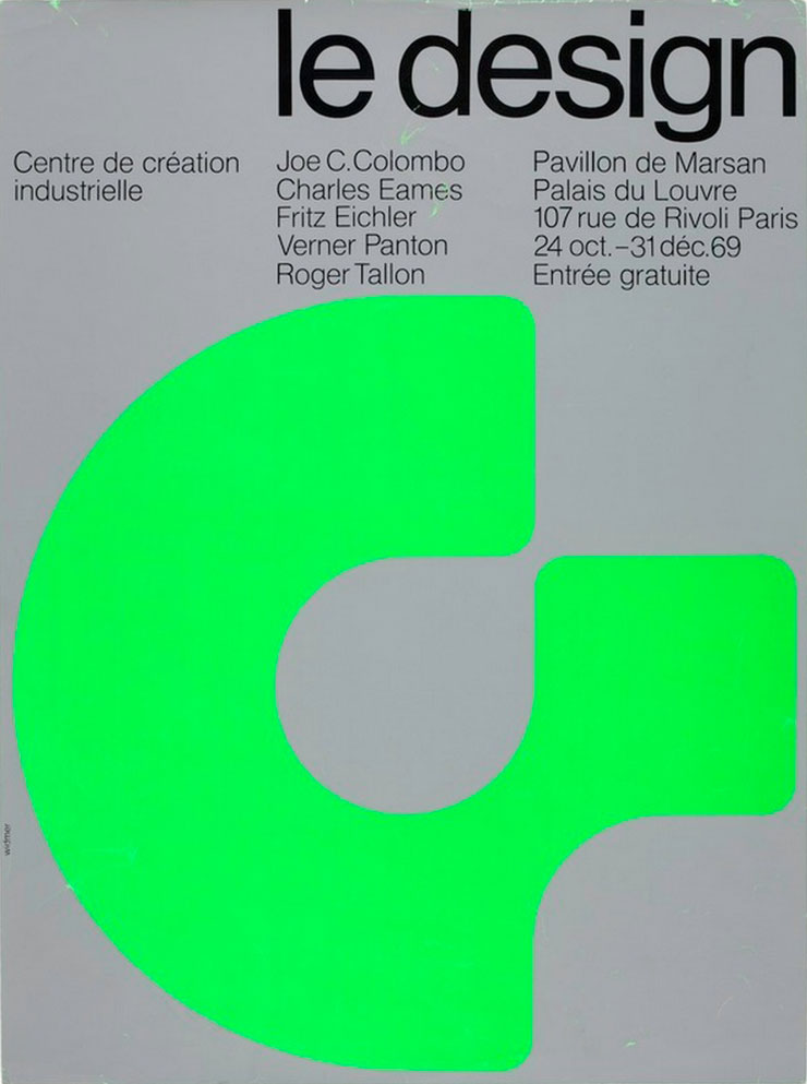 jean-widmer-affiches-Centre-de-creation-industrielle-le-design-1971