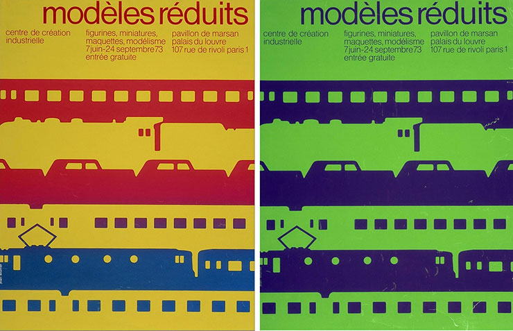 jean-widmer-affiches-Centre-de-creation-industrielle-modeles-reduits-1973