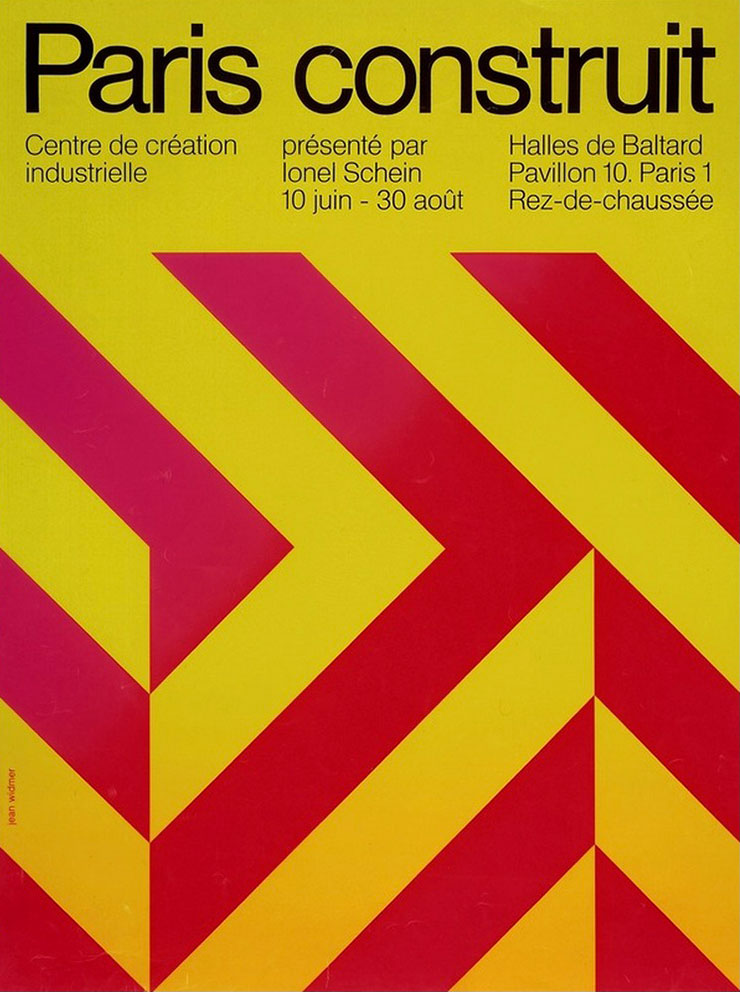 jean-widmer-affiches-Centre-de-creation-industrielle-paris-construit-1971